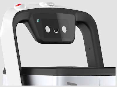 PUDUBOT หุ่นยนต์ส่งอาหาร