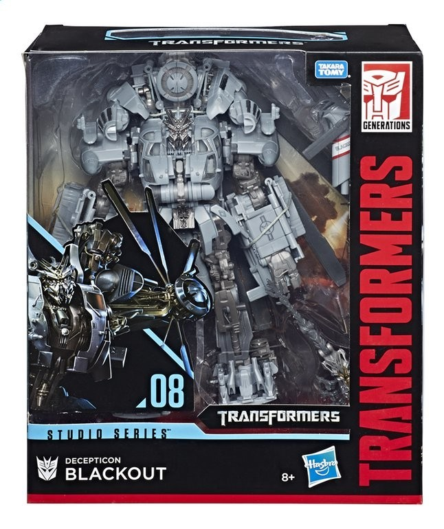 Transformers Robot Heroes Movie Blackout
