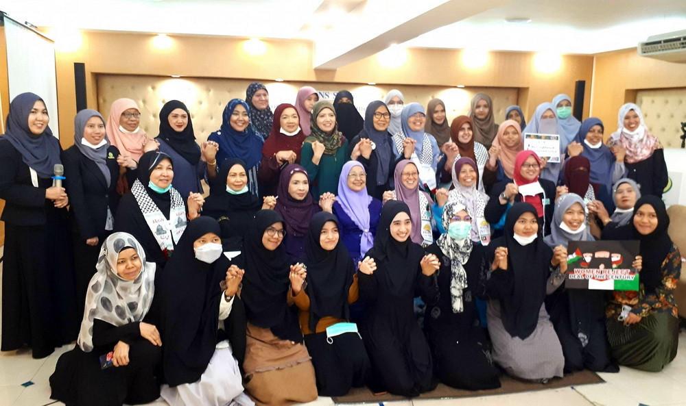 การสัมมนาความร่วมมือองค์กรสตรีเพื่อปลดปล่อยอัลกุดส์และปาเลสไตน์