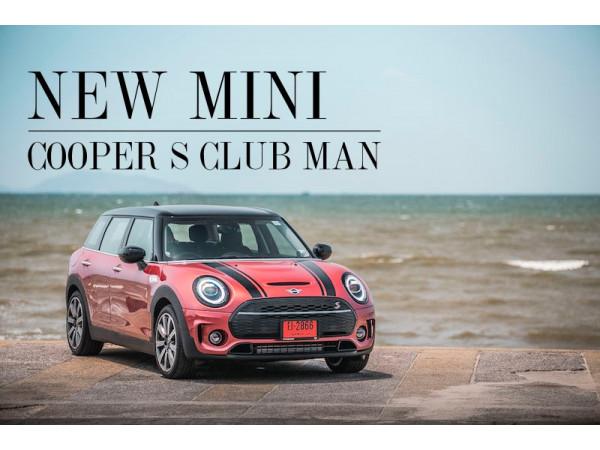 NEW MINI COOPER S CLUB MAN