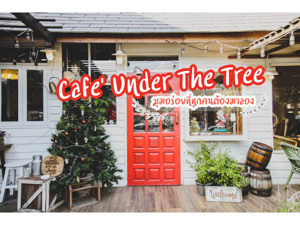 Cafe' Under The Tree  มุมอร่อยที่ทุกคนต้องมาลอง