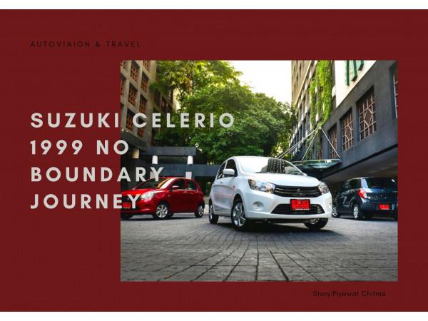 """SUZUKI CELERIO 1999 No Boundary Journey"""