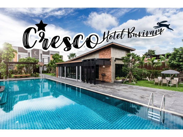 Cresco Hotel Buriram   เปิดประสบการณ์ใหม่ของบุรีรัมย์ กับสไตล์ Loft Industrial