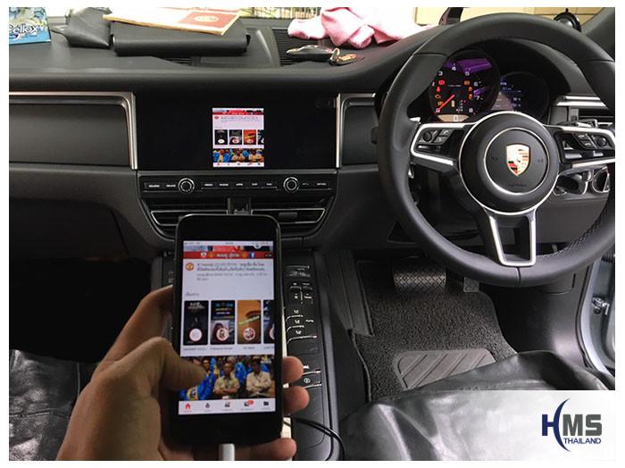 20190522 Porsche Macan Wifi box Youtube