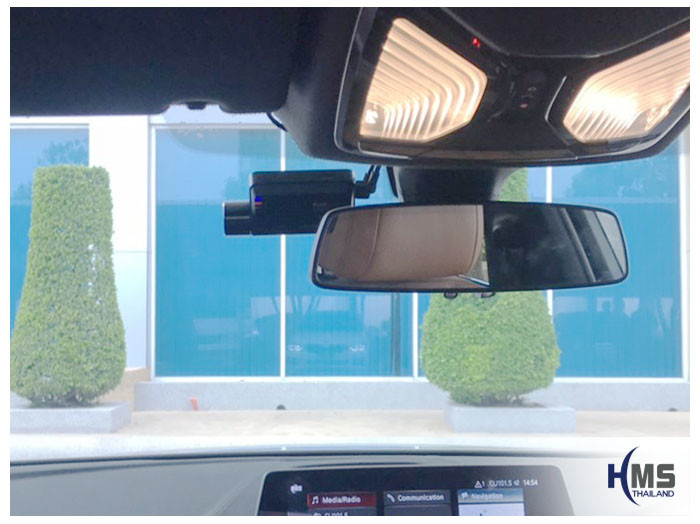 20190507 BMW 530i DVR Thinkware Q800 front