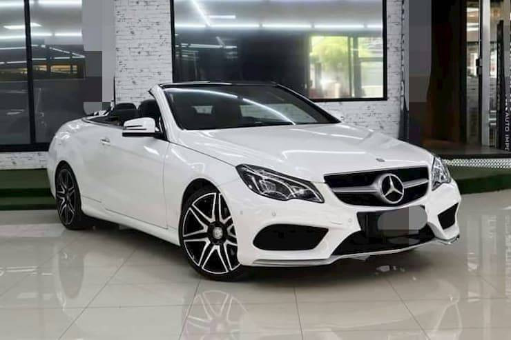 Mercedes-Benz E250 AMG Plus Cabriolet