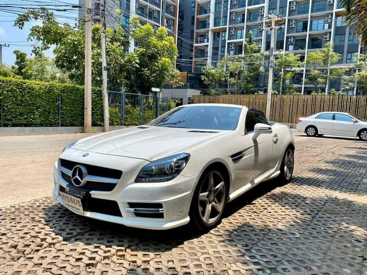Mercedes Benz SLK200 AMG Dynamic Year2015