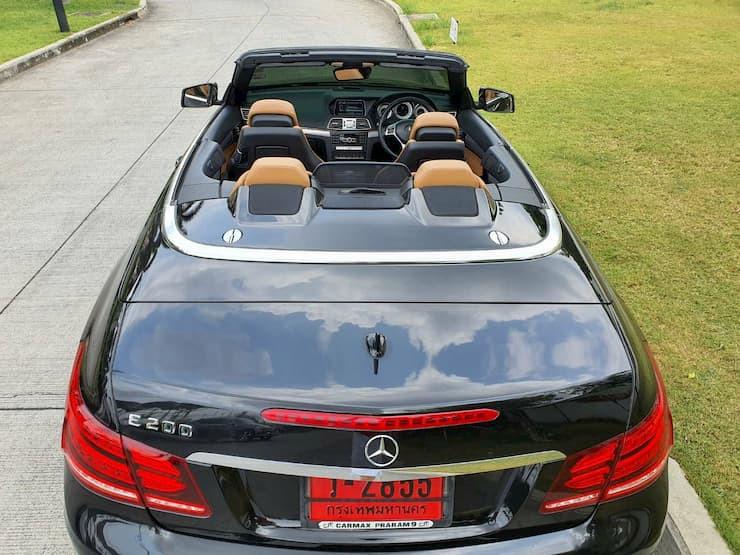 Mercedes-Benz E200 Cabriolet AMG