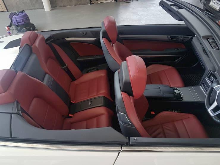 Benz E200 Cabriolet