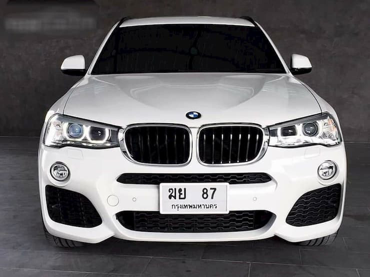 BMW x3 xDrive20d M-sport Year2017