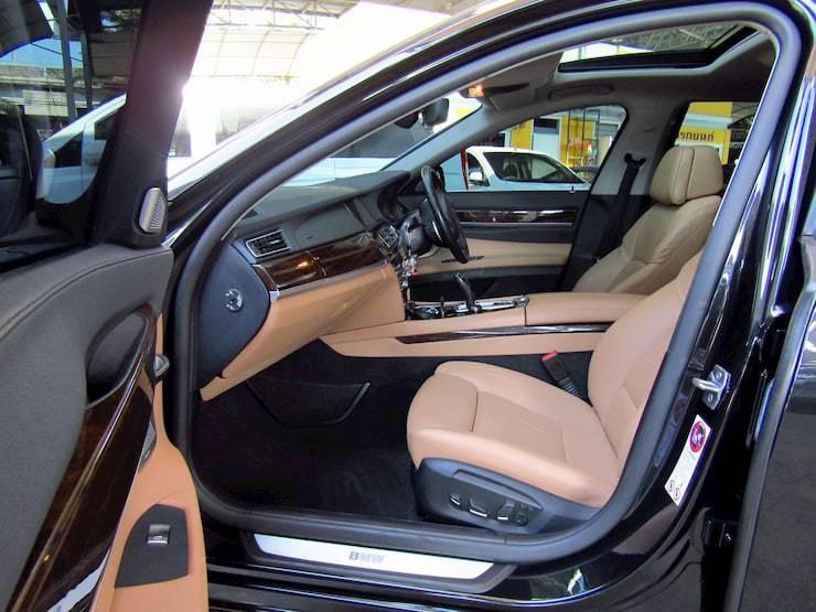 BMW 740Li 3.0 F02 Year2013 Black color