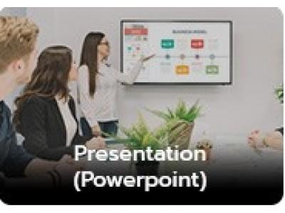 บริการทำพรีเซนเทชั่น (Presentation)